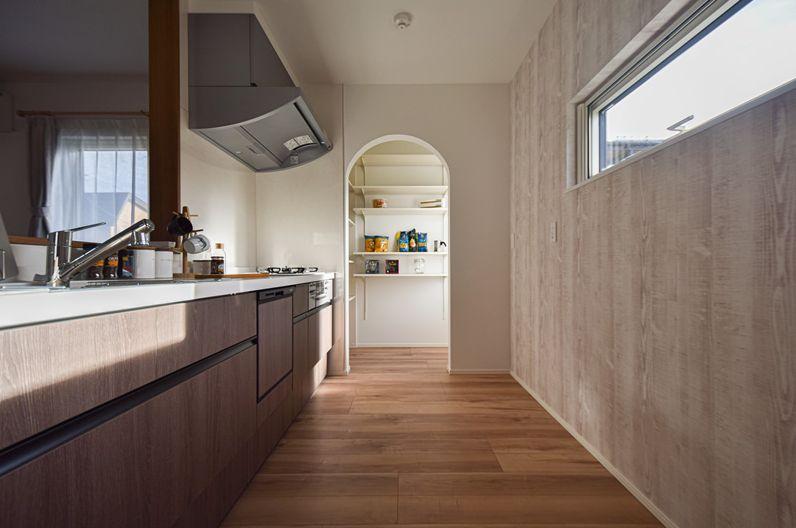 パルコホーム 建築実例3 ママ楽の家 キッチン