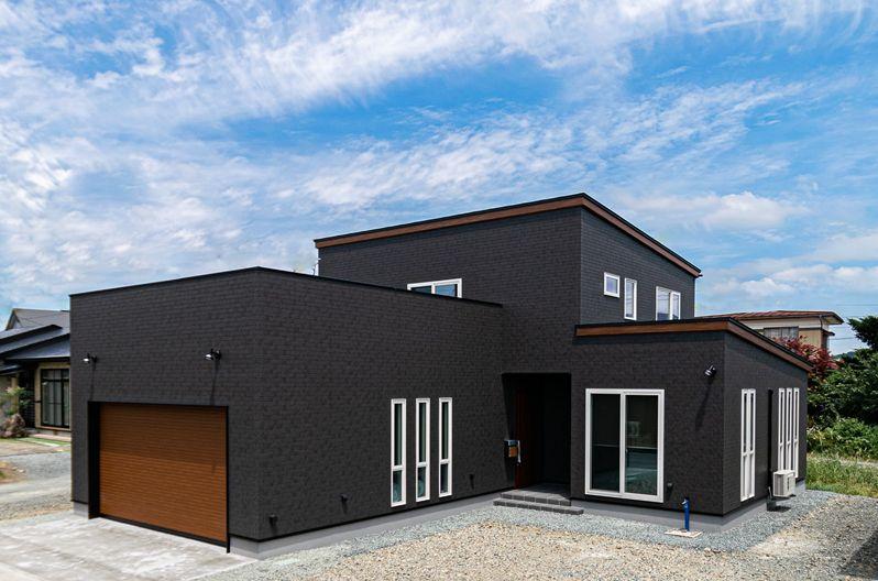 パルコホーム 建築実例4 注文住宅 外観
