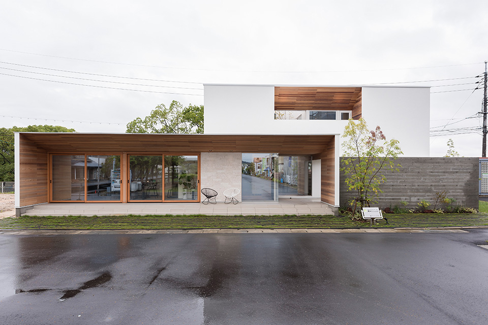 アールプラスハウスの建築実例02
