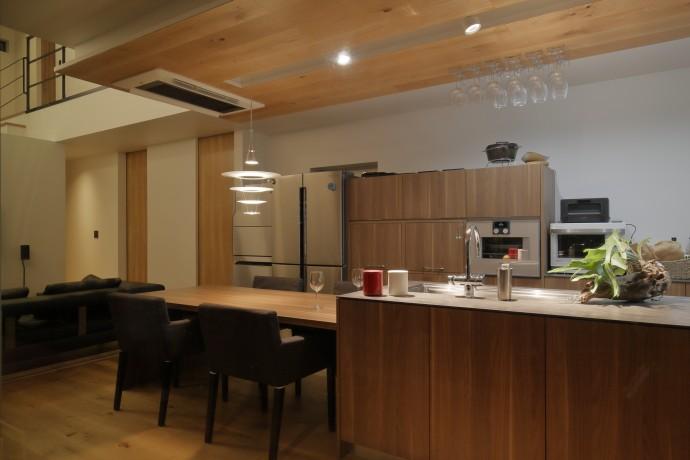 栃木建築社 実例 キッチン