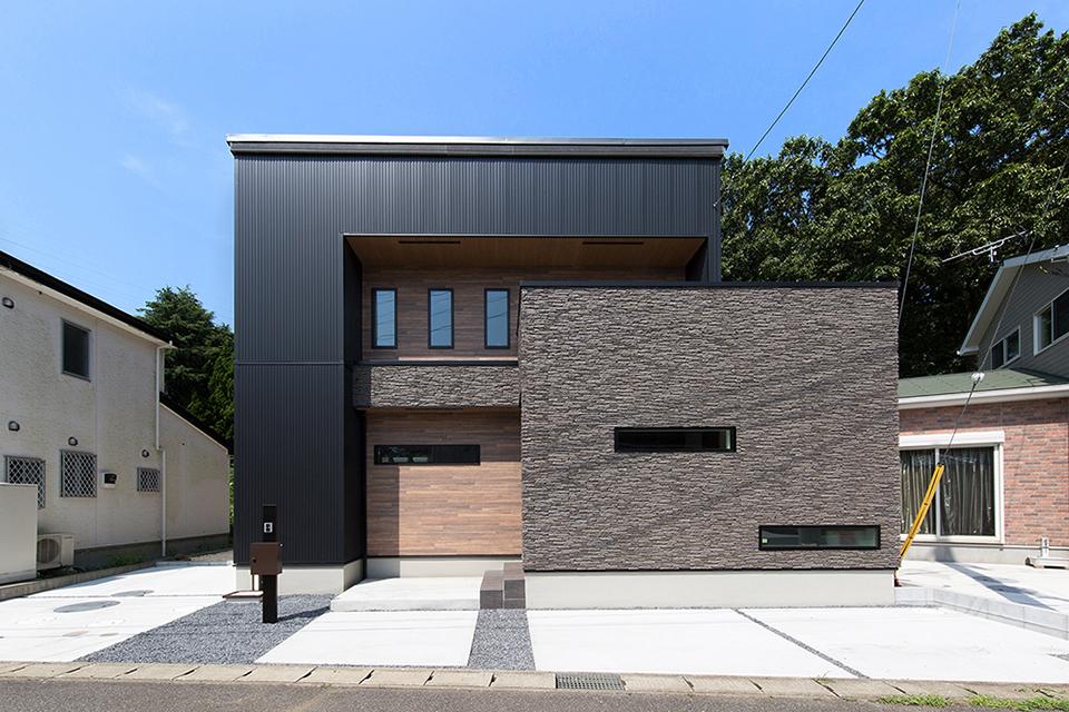 広島建設(セナリオハウス)の外観実例1