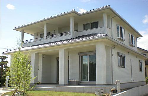 県民共済住宅外観の実例3