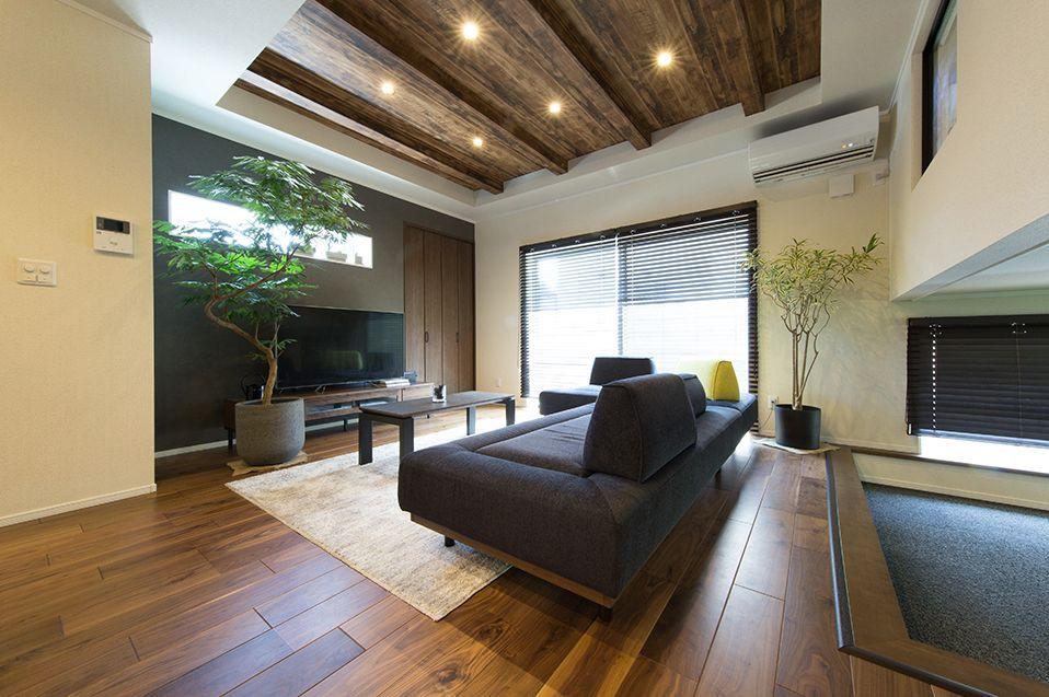 広島建設の内装実例1