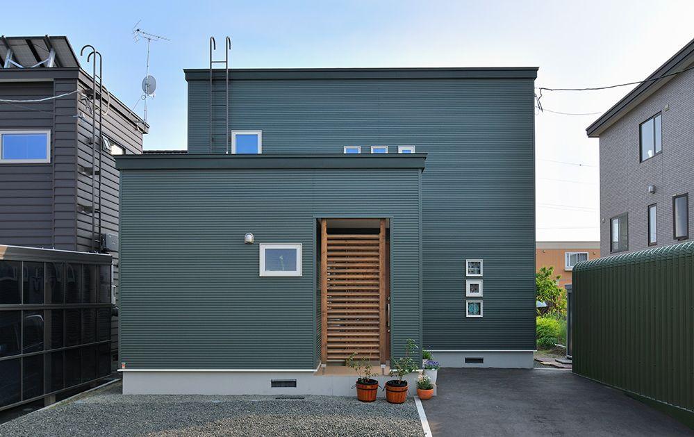 北欧風の家外観画像