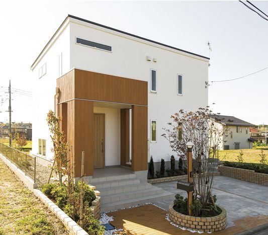 セミオーダー住宅「家○ハウス」外観画像