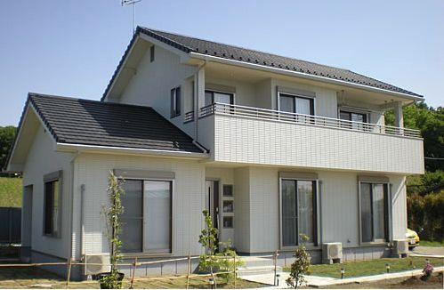 県民共済の注文住宅外観画像