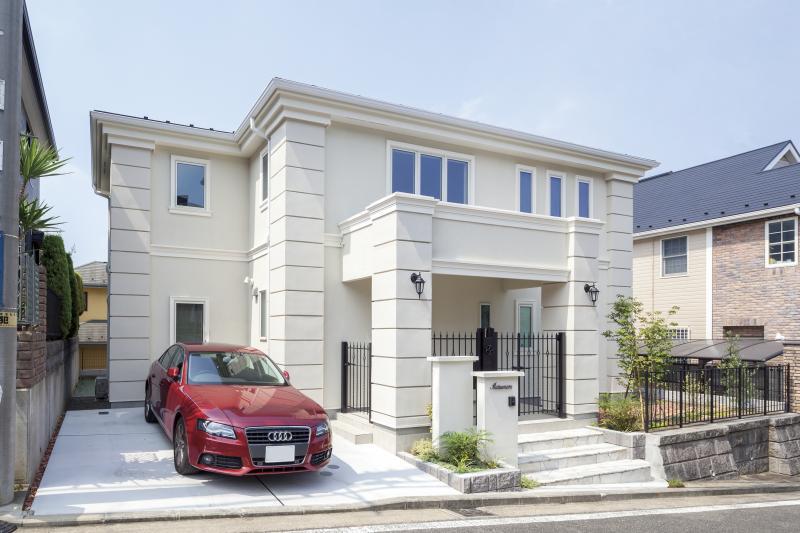 マルビシの注文住宅外観画像