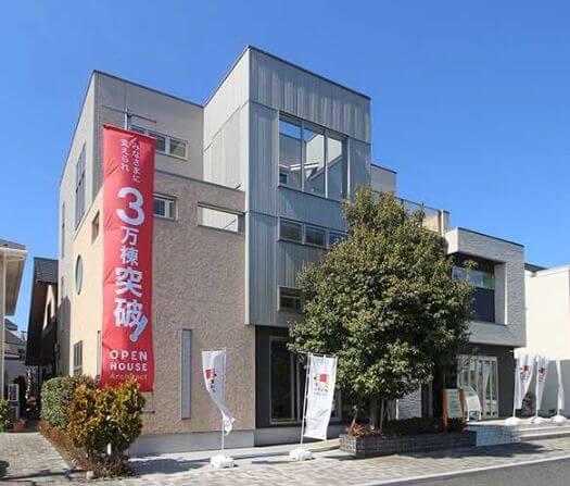 オープンハウス・アーキテクトの注文住宅外観画像