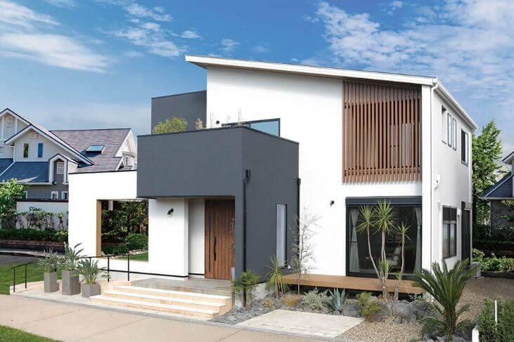 ツーバイフォー住宅(自由設計)外観画像