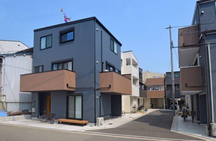 和光ホームズの建築実例1