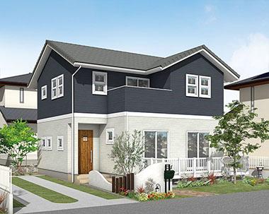 セミオーダー住宅外観画像