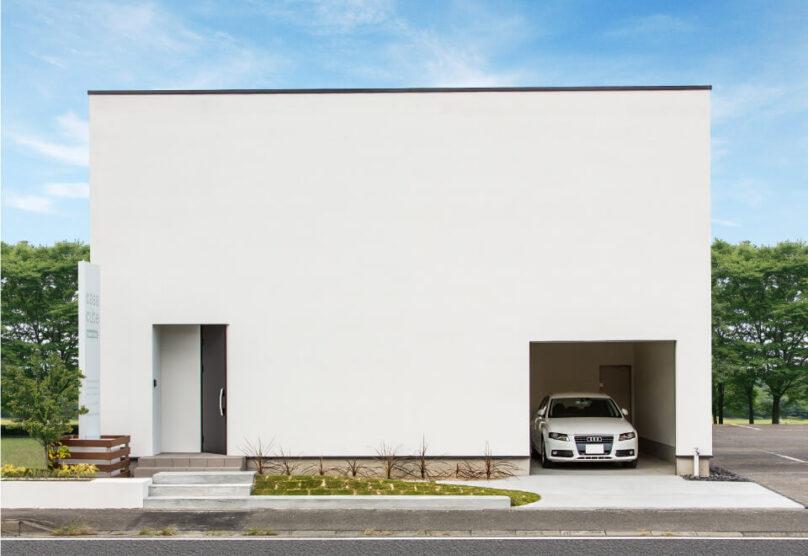 日興ホームのコンセプト住宅外観画像
