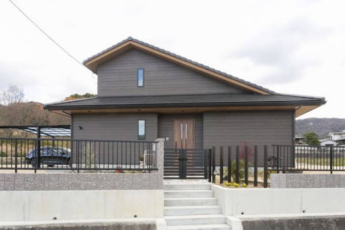 山根木材の建築実例1