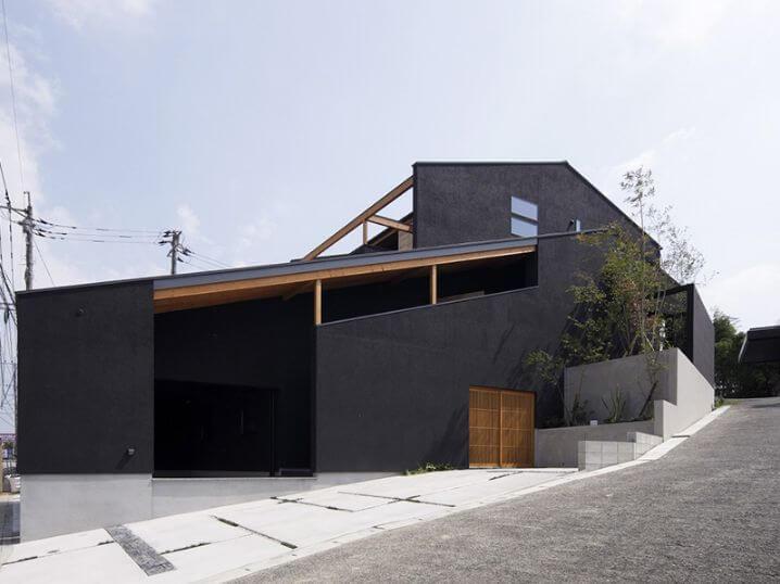 サン・プラザホームの注文住宅(モデルハウス:グランピングハウス)外観画像