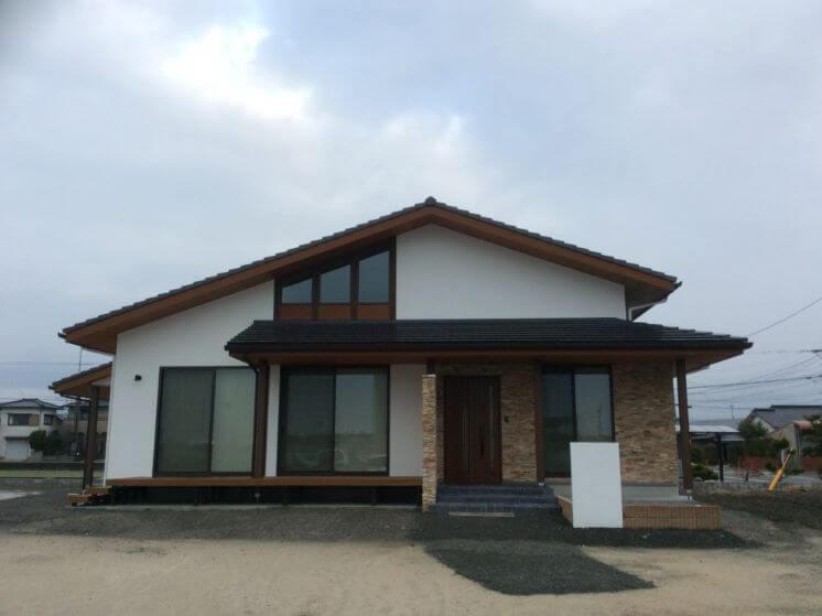 エースホーム(佐賀県)の注文住宅外観画像