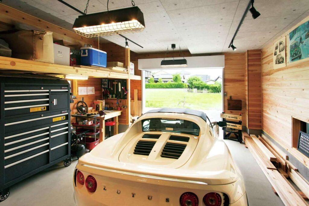 ガレージハウスへの憧れ