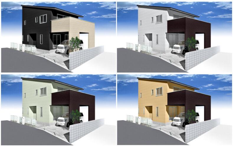 規格住宅「テラシー」外観画像