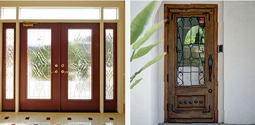 メープルホームズの木製ドア