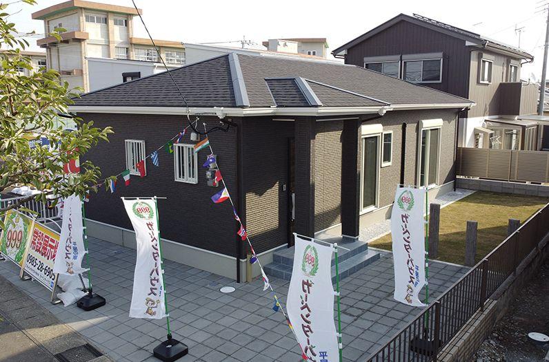 カーペンターハウス(平屋住宅)外観画像