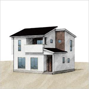 規格住宅「コンフォート」外観画像