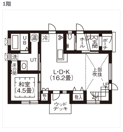 レディゼッチの家内覧画像1